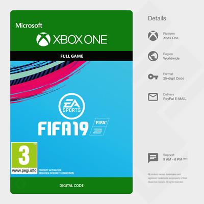 FIFA 19 (Xbox One) - Digital Code [GLOBAL]