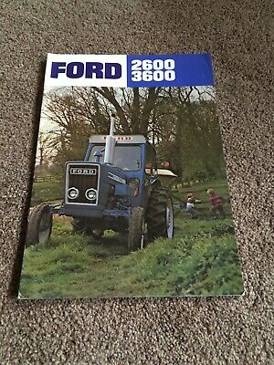 Ford 2600 3600 Brochure