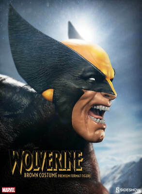 Sideshow Collectibles Brown Wolverine Premium Format Figure. Collector edition.