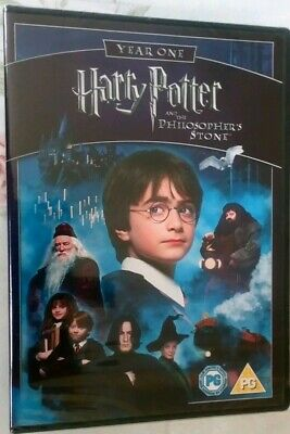 Harry Potter And The Philosopher's Stone (DVD, 2005) Year One [New] 1st Movie