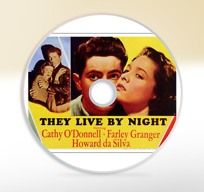 They Live By Night (1948) DVD Crime Drama Movie / Film Noir Cathy O'Donnell