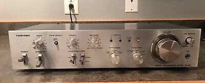 Toshiba SY-665 Stereo Preamplifier Works Great Excellent Condition