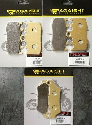 Complete Brake Pad Set For BMW R 1200 RT ABS 2005