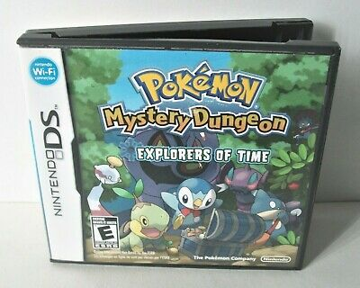 Pokemon Mystery Dungeon Explorers of Time Case Artwork Only NO GAME Nintendo DS