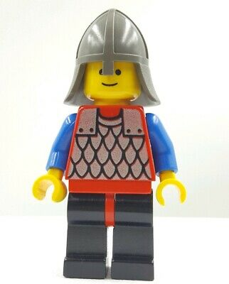 LEGO Minifigures 1x cas322 Knight Castle Crusaders Omino Minifig Set 6057