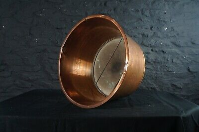 Large Antique Copper Sieve with Removable Base ~ Kitchen or Garden