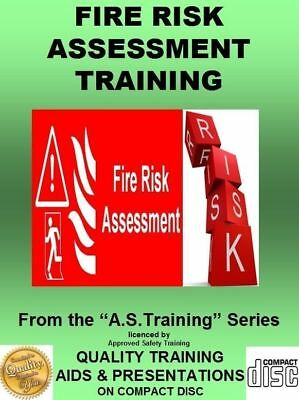 HEALTH & SAFETY Training Fire Risk Assessment Made Easy PPT on CD
