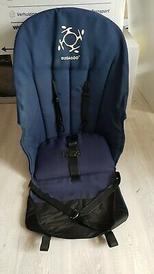 Bugaboo frog old style navy blue seat fabric with harness
