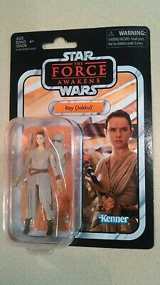 """Star Wars The Vintage Collection Rey (Jakku) The Force Awakens 3 3/4"""" Inch"""