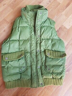 Girls Green Next Gillet Age 11-12 Years