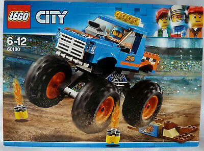 LEGO 60180 City Great Vehicles Monster Truck Toy, Vehicle Construction Sets BNIB
