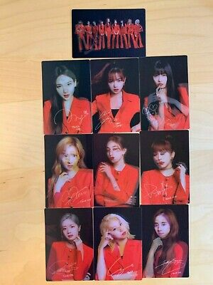 TWICE Lenticular Photocard B Official Goods TWICELIGHTS Concert World Tour 2019