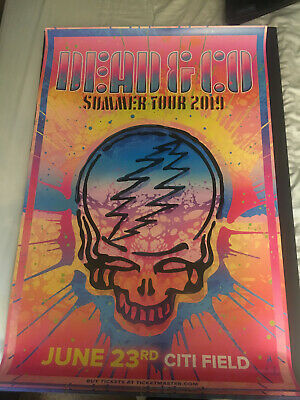 DEAD & COMPANY Poster 6-29-18 The Gorge, George, Wa  John Mayer And