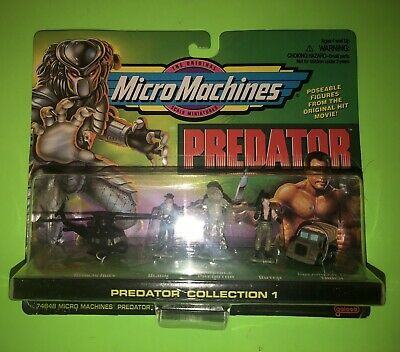 Micro Machines Predator Collection 1 by Gallon 1996! NEW SEALED!