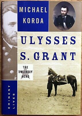 "Michael Korda Autograph Book ""Ulysses S. Grant"" to author Jackie Collins"