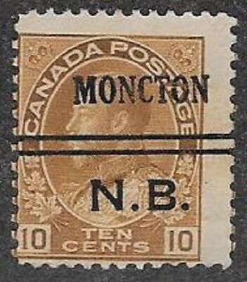 Canada City Precancel stamp - Moncton 3-118, Lot 2