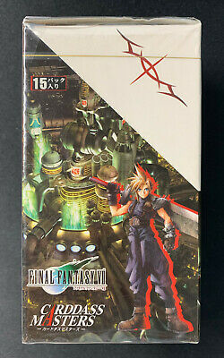 1997 Final Fantasy VII Trading Card Game BOX Carddass Masters FF7 RARE SEALED