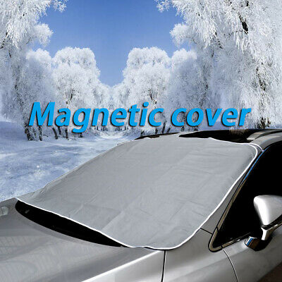 Magnetic Car Front Windscreen Snow Ice Shield Cover Auto Windshield Sun Shade
