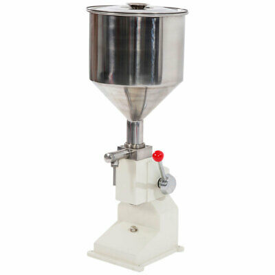 Fully Equipped Stainless Steel Manual Filling Machine Fruit Juice Liquid Alcohol