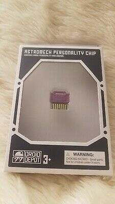 Disney Star Wars Galaxy's Edge Droid Depot Personality Chip Smuggler Purple