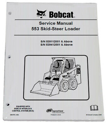 BOBCAT T550 TRACK Loader Operation & Maintenance Manual