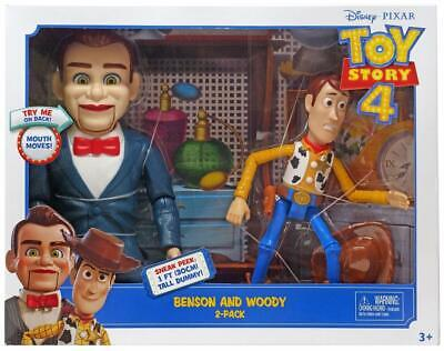 "Toy Story 4 Benson And Woody Two-Pack 7"" Action Figure Disney Pixar F/S"