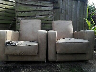 Iconic Art Deco Chairs - Recliners - Collection Only Original, rare and reduced!