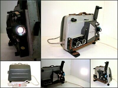 Vintage RAYNOX DU 707 TC Film Projector 8 mm Film Japan Good Working Order