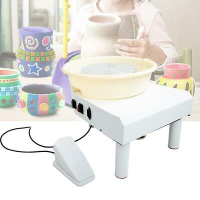 25cm Electric Pottery Wheel Home Shcool Teaching Ceramic Drawing Machine 250W