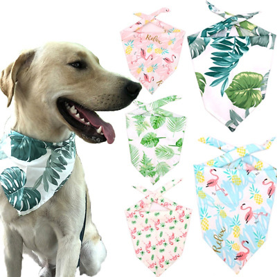 Pet Dog Cat Neckerchief Bandana Collar Adjustable Buckle Neck Dress Scarf Puppy