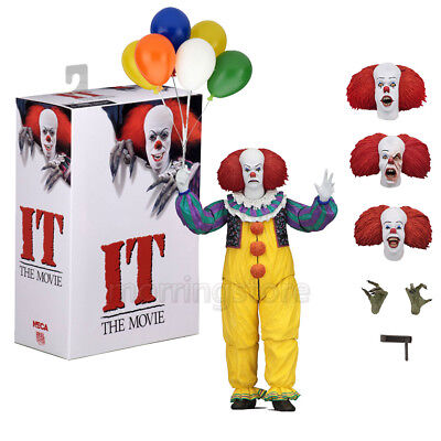 NECA 1990 IT Stephen 18cm King's Pennywise Clown Balloons Action Figure Statue