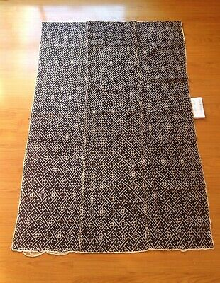 Antique Textiles Hand Woven Rug Blanket Batik Dye Cotton