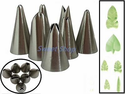 Set of 7pcs Russian Tulip Icing Piping Nozzles Cake Decoration Tips Cake Tool