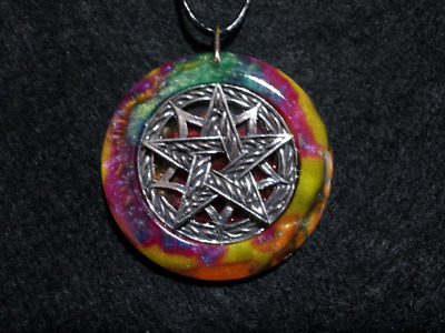 Pentacle Amulet,spiritual,pagan,wiccan jewelry,witchcraft,protection,symbolic