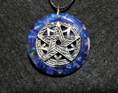 Pentagram Amulet,spiritual,pagan,wiccan jewelry,witchcraft,protection,pentacle