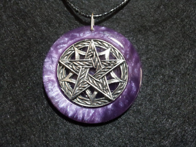 Pentagram Pendant,spiritual,pagan,wiccan jewelry,witchcraft,protection,pentacle