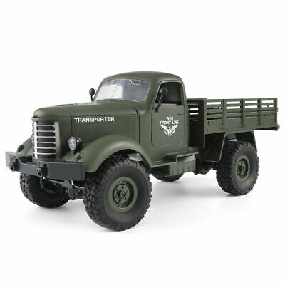 JJRC Q61 1/16 RC RTR Off-Road Racing Car Military Truck 4WD 2.4G Remote Control