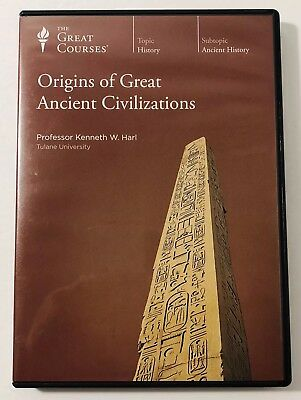 The Great Courses: Origins of Great Ancient Civilizations by Prof. Kenneth Harl