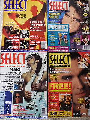 Bundle Of Select Music Magazines x 4 ~ Including The 1st Issue July 1990