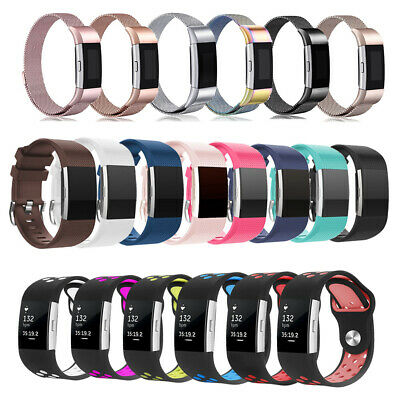 Fitbit Charge 2 Band Various Luxe Sport Bands Replacement Wristband Watch Strap