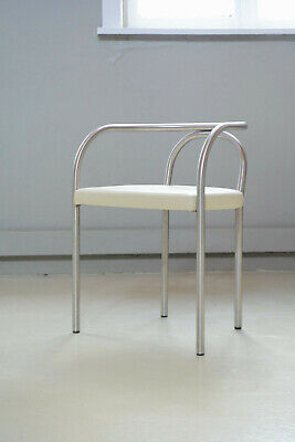 Poul Henningsen Stuhl. Limited Edition chair, leather steel, danish design chair