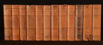 1906 12vols The Works of William Shakespeare Plays Poetry