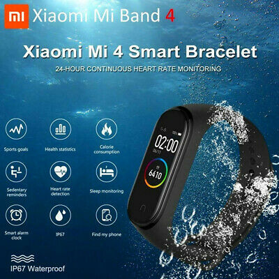 XIAOMI MI BAND4 bluetooth5.0 SMARTWATCH BRACCIALETTO INTELLIGENTE OROLOGIO qg