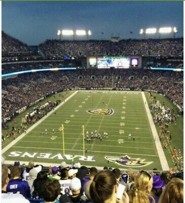 (2) Tix Baltimore Ravens vs Pittsburgh Steelers ! Best Game In NFL! Great Seats!