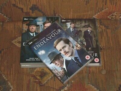 Endeavour: The Complete Series 1- 4 +5+6 (DVD, 2011/18)