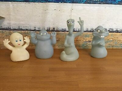 Vintage Lot of Casper the Friendly Ghost HAND PUPPETS - 1995 Pizza Hut