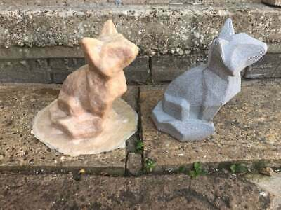 Latex Mould to make this Modern Textured Fox Ornament, Hand Made Mold