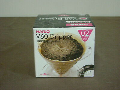 Hario V60 Dripper 02 New in Box Individual Drip Coffee VD-02 Japan