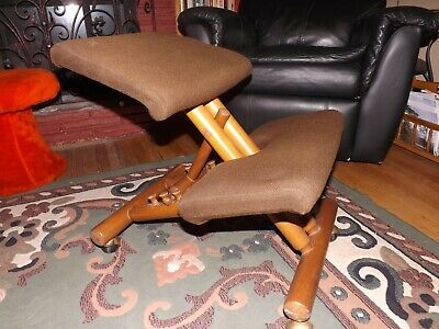 Awe Inspiring Vtg Balans Kneeling Chair Peter Opsvik Ergonomic Stool Gmtry Best Dining Table And Chair Ideas Images Gmtryco