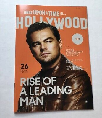 Once Upon A Time In Hollywood Magazine Exclusive Promo MINT PRISTINE Tarantino